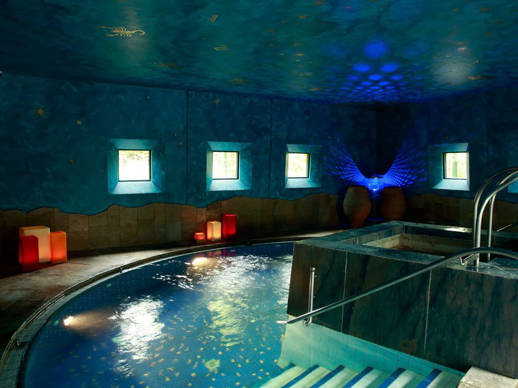 Indoor pool grotte  Interaktiver Lageplan | Claudius Therme Köln | Wellness mit Blick ...