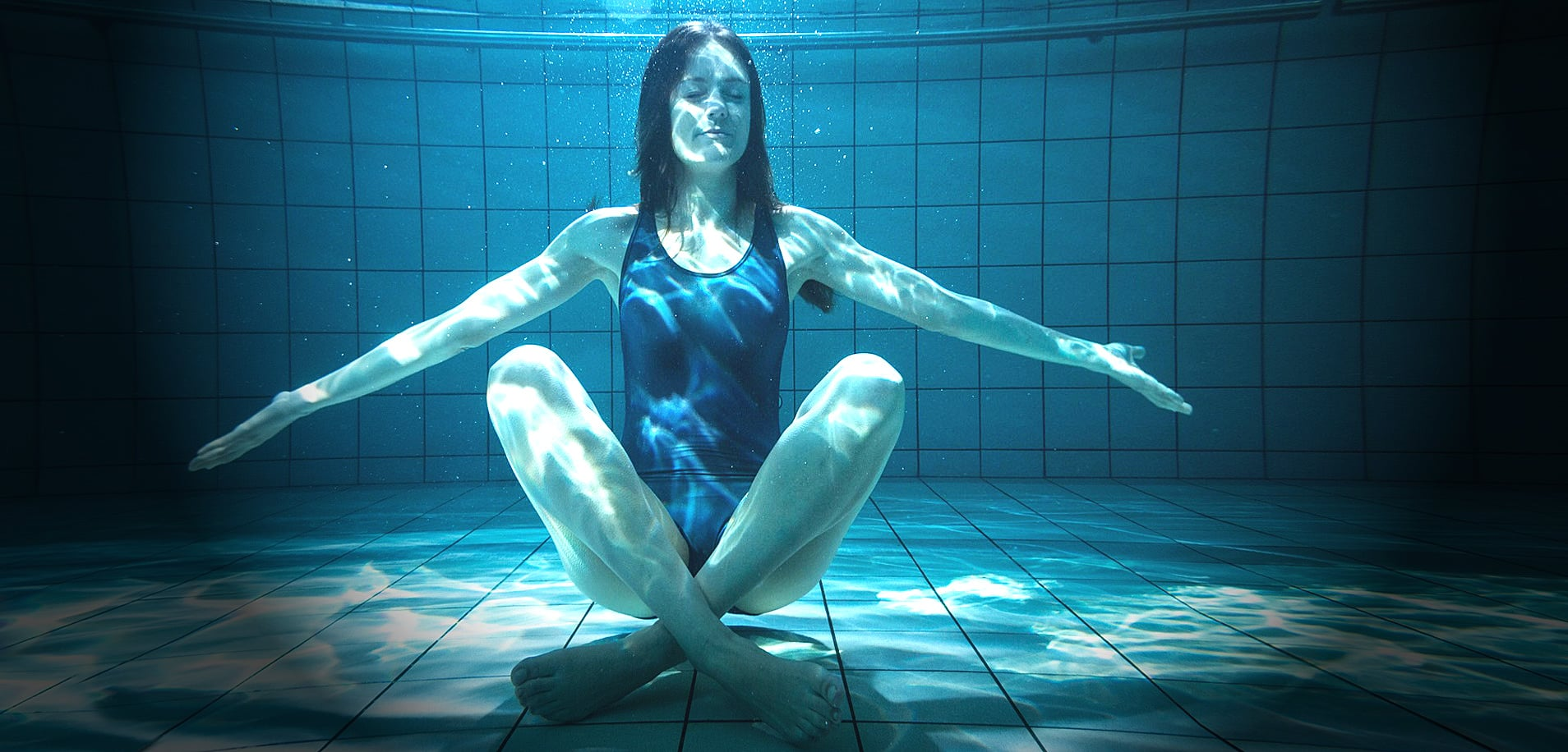 Aquarian Yoga in der Claudius Therme